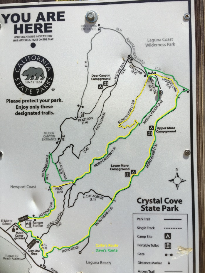 Crystal Cove Route